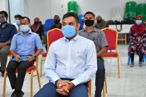 Naibu Raees Faisal ah amilla rashuge hospital in shakuvaa ossaalaifi