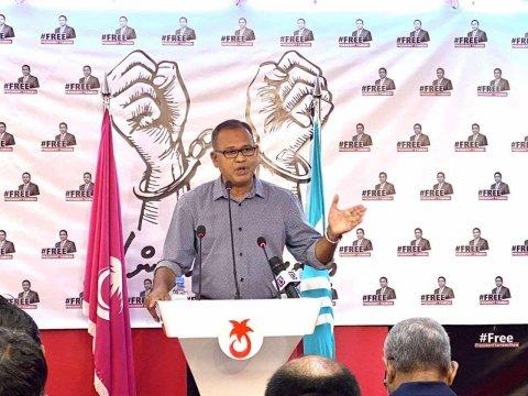 Rayyithunge courtgai Raees Yameen aky kuvveri eh noon: Adam Shareef