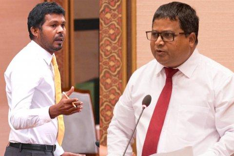 MDP ge inthihaabah minister Dr. Hussain nufoozu foaruvaa kamuge thuhumathu koffi