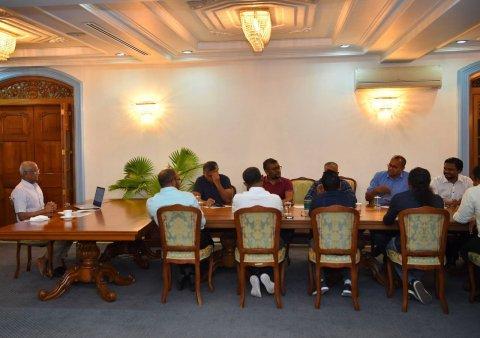 Hiyaalu thafaathuvi MDP ge member innaaeku Raees Solih eh meyzudhoshah