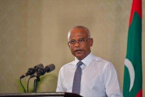 President Ibrahim Mohamed Solih